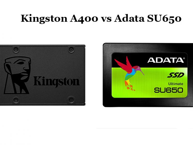 Kingston A400 vs Adata SU650