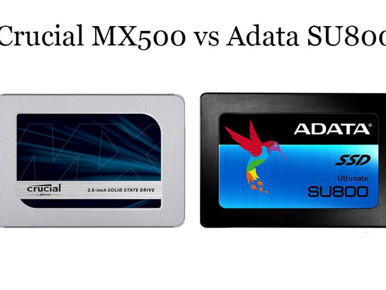 Crucial MX500 vs Adata SU800